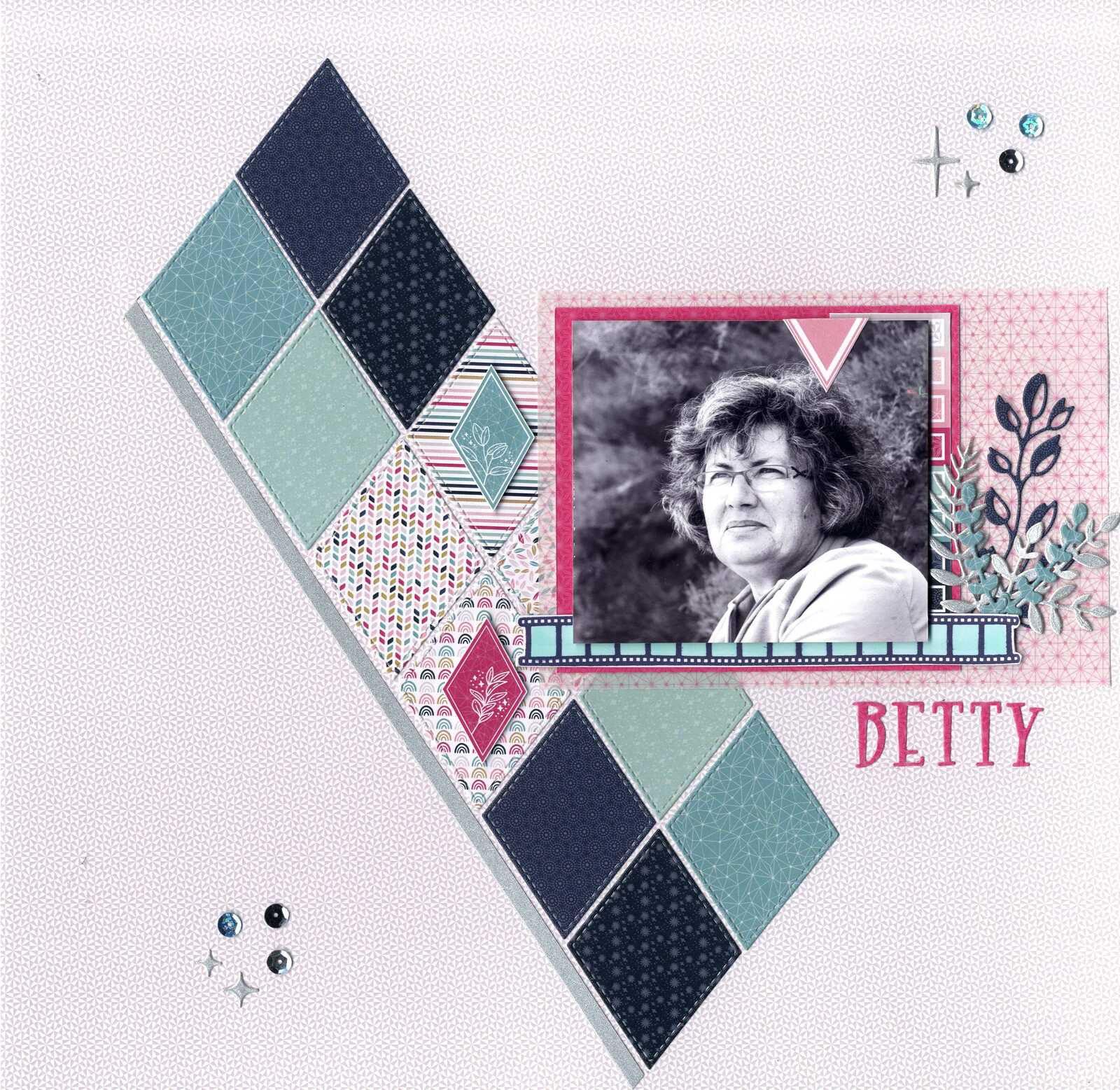 BETTY - page présentation