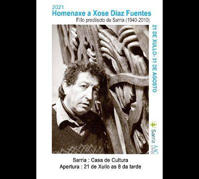 Exposition HOMMAGE à José Diaz Fuentès du 21 juillet au 28 aout 2021