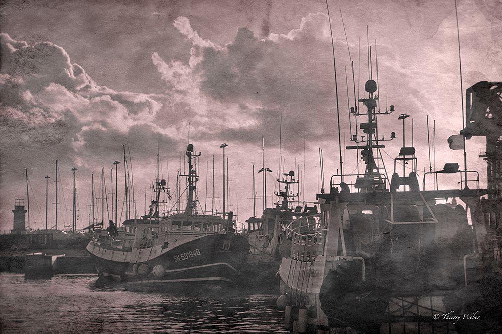 Port de La Turballe vintage