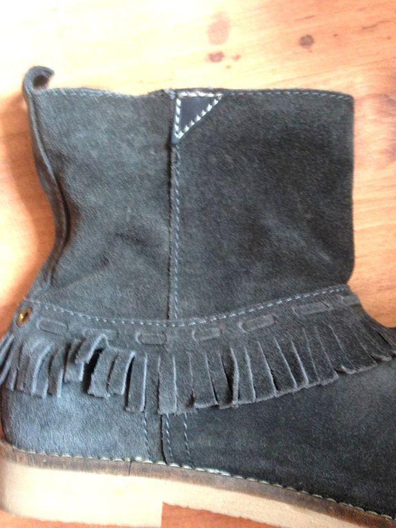 pose de fermeture eclair sur chaussure  sur charlotteblabla blog*