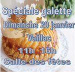 """Concentration """"Pause Galette"""" à Vaillac (près Labastide-Murat) -Dimanche 20 janvier"""