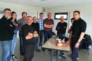 Entente Cyclotouriste Lamballaise Formation au PSC1