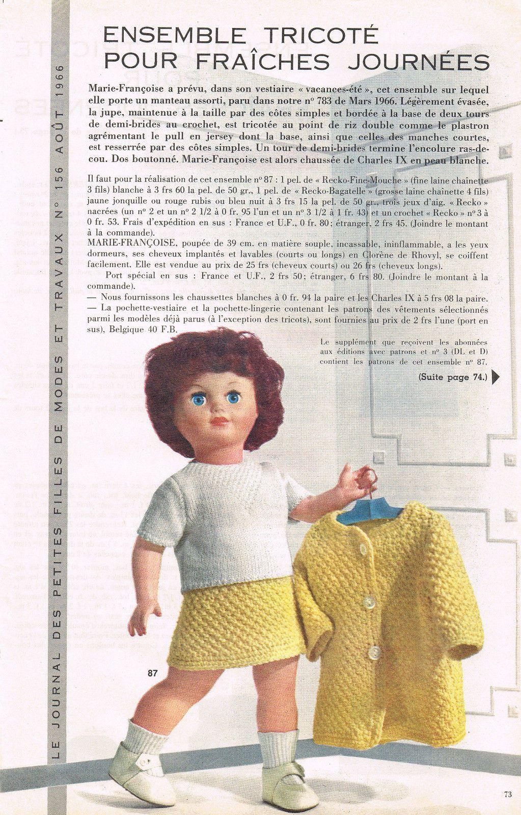 Modes & Travaux • Août 1966