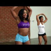-Tiffany Rothe's 10 Minute Booty Shaking Workout part 2! | TiffanyRotheWorkouts