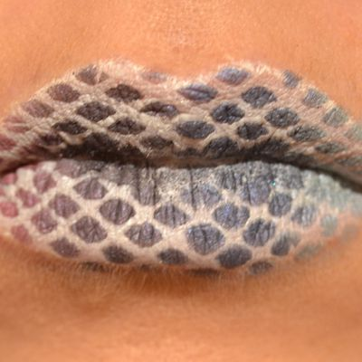 Rainbow Lip Art / Lip Art arc en Ciel
