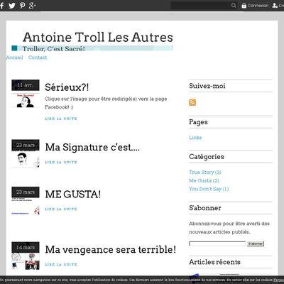 Antoine Troll Les Autres