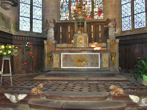 Réouverture de l'église du Juch (MH) après 4 ans de restauration