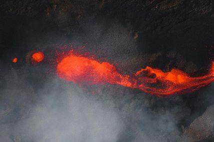 Quel merveilleux cadeau nous a fait le Piton de la Fournaise en nous offrant cette éruption pour cette fin d'année.