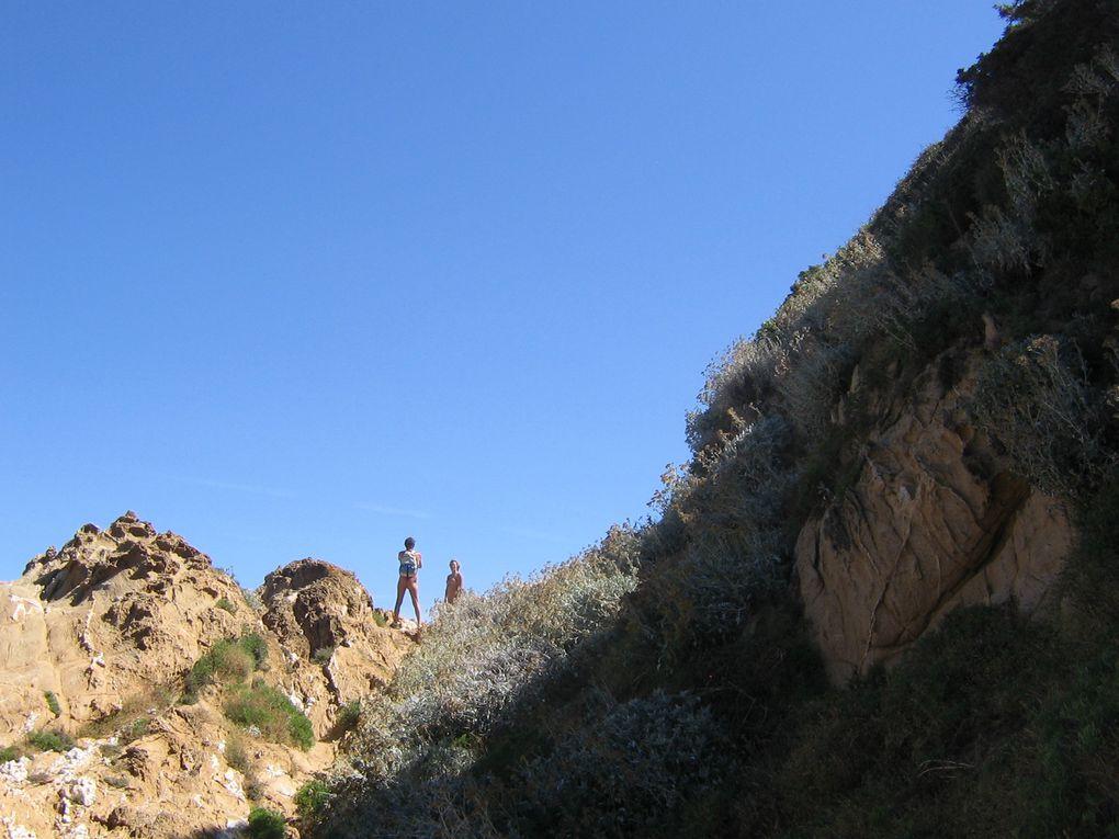 première visite de l'ile dans le cadre de rencontres du site E-Nat