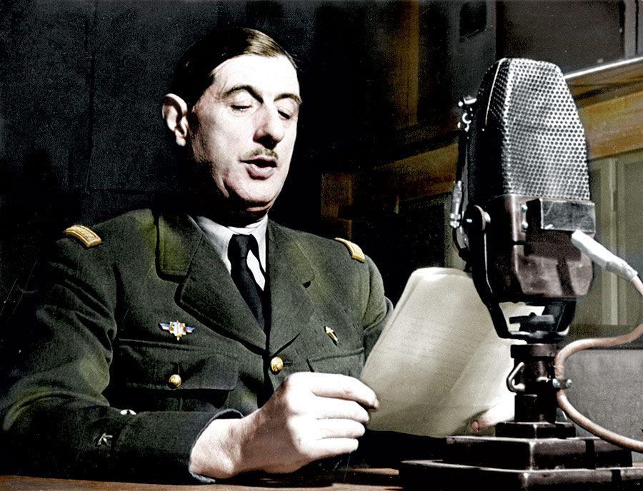 de historytoday.com...de Gaulle Résistant...