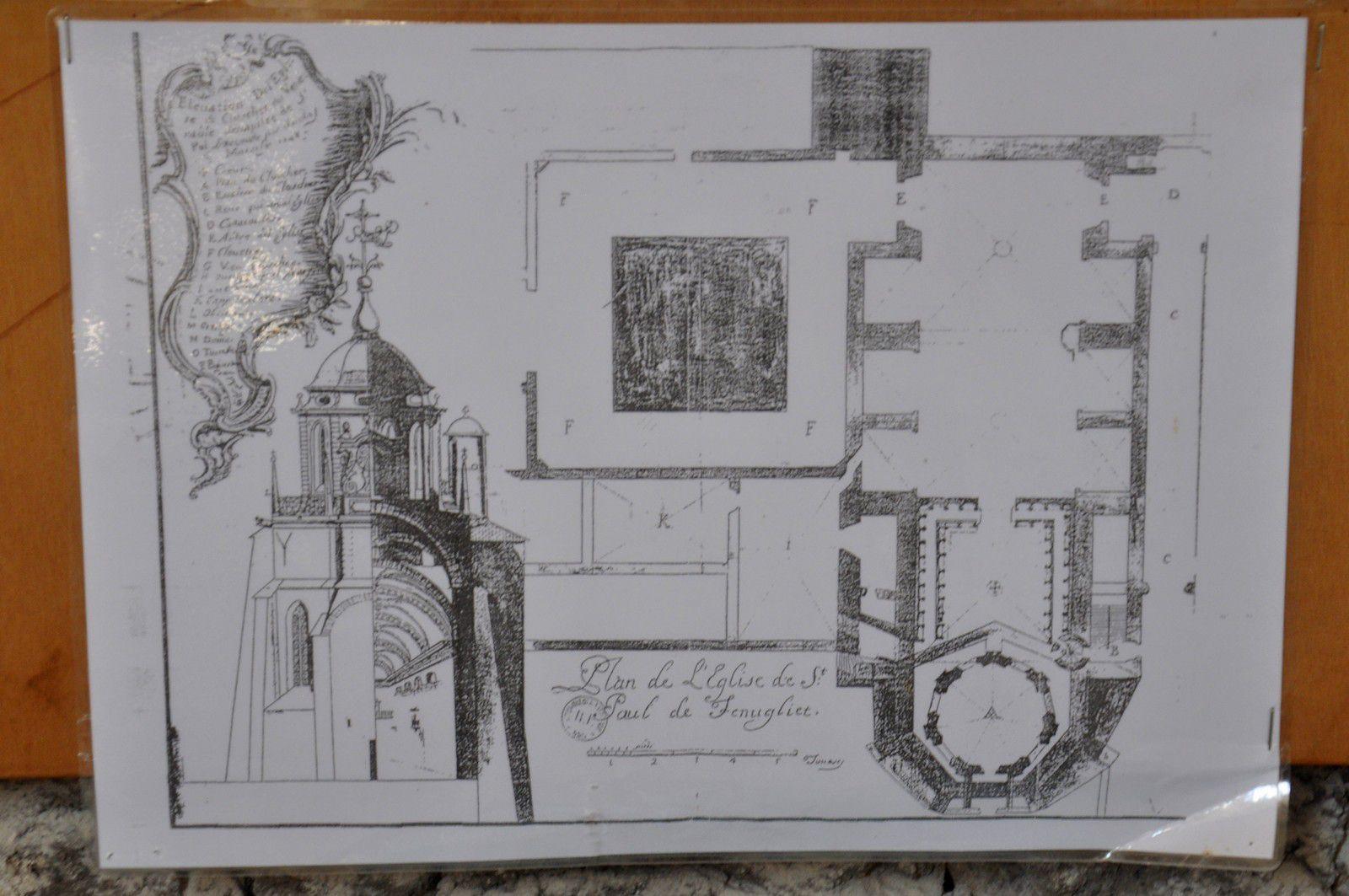 Le Chapitre, un trésor du patrimoine avec les oeuvres en plâtre.