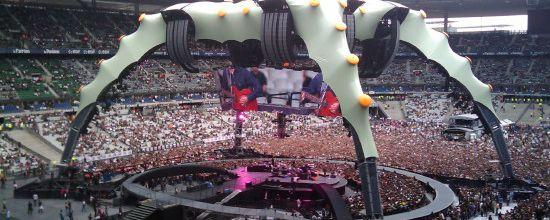 U2 -Stade de France -Paris 11-07-2009