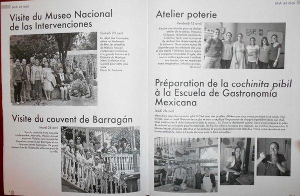 POUR BIEN VIVRE L'ÉTÉ AU MEXIQUE : LA REVUE RÊVISTA DE MEXICO-ACCUEIL