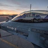 Avec 12 F-16 MLU, la force aérienne belge débarque en force sur la base aéronavale de Landivisiau
