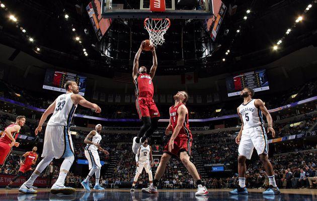 Le Heat maintient Memphis au fond du trou