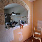 Les travaux du Petit bistro, avancent tranquillement - Chez Mamigoz