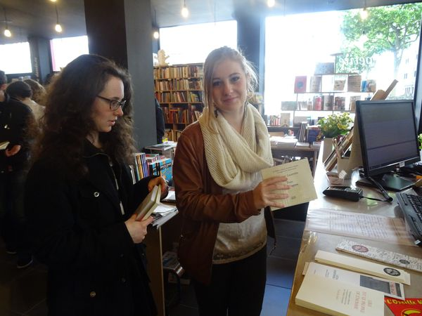 Braquage de librairie à Brest !