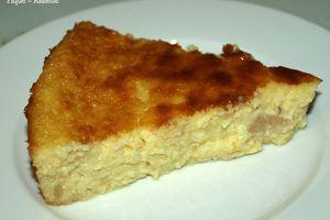 Gâteau amandine aux poires façon clafoutis. (Recettes au Companion ou pas ...)