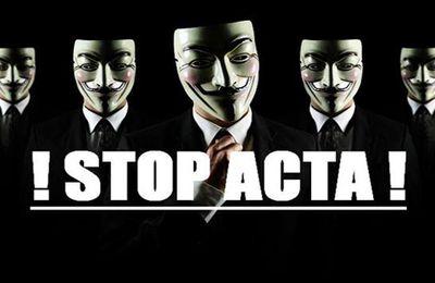 STOP ACTA : Appel à manifester le 25/02/2012