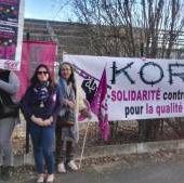 Social - Situation tendue à la maison de retraite Korian à Saint-Clément