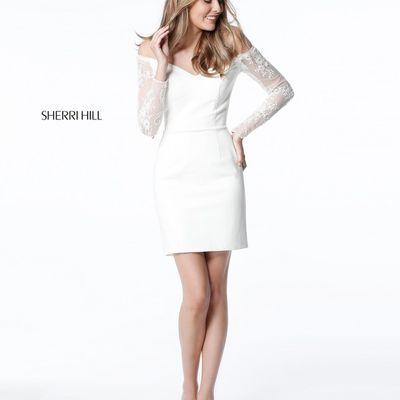 Sherri Hill 51361 White
