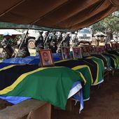 Les 14 casques bleus tués en RDC inhumés en Tanzanie