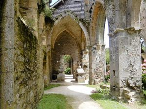 Abbaye de Beauport, Bretagne en camping-car