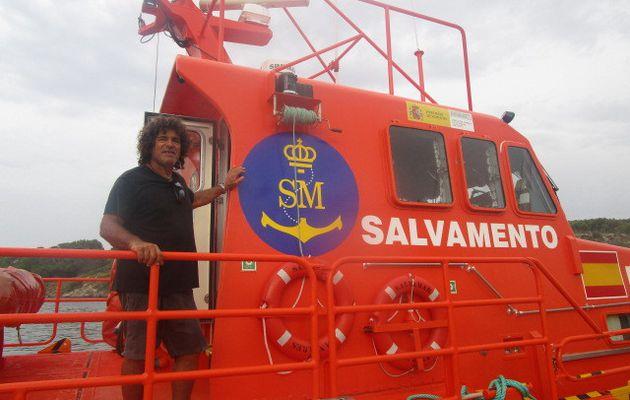 Salvamento Maritimo à Minorque...