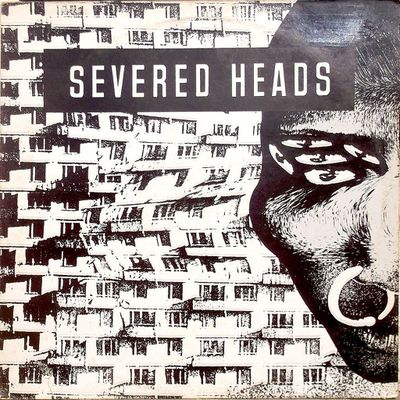 """Severed Heads """"stretcher"""" 45t/33t 12"""" ink records INK1214 1985"""