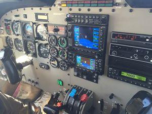 Vol en haute montagne en Piper Saratoga II HP