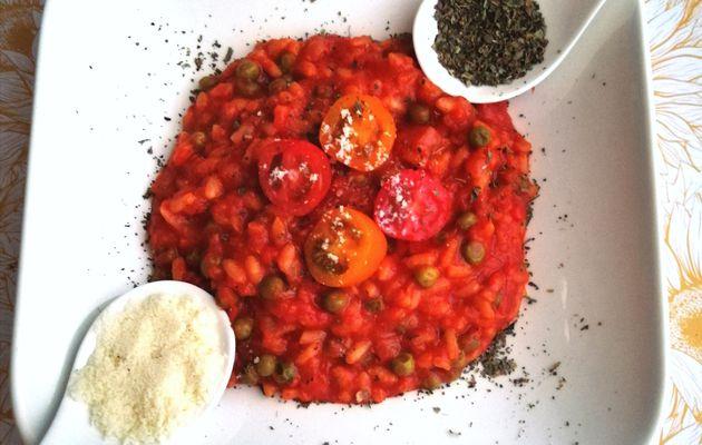 Risotto de tomates à la cancoillotte (au cookeo)
