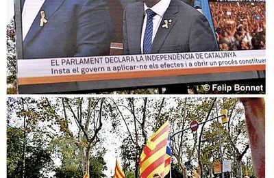 Barcelona, Visca la republica de Catalonha e Aran