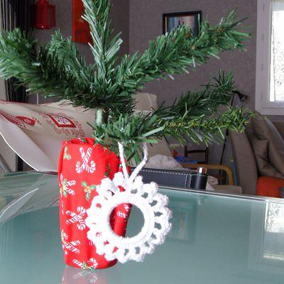 Etoile ronde de Noël