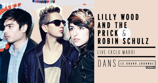 Lilly Wood & The Prick en live au Grand Journal.
