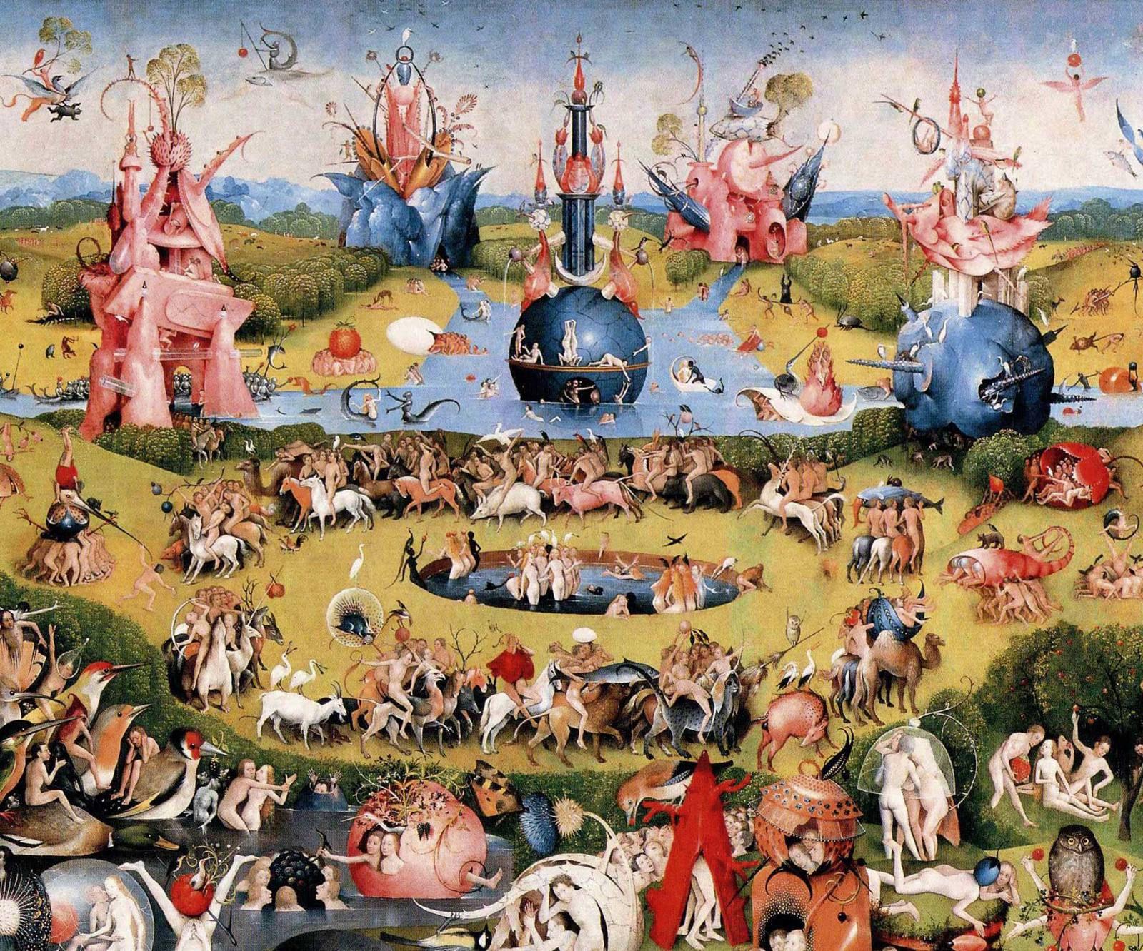 Le jardin des délices de Jérôme Bosch (1494-1505)
