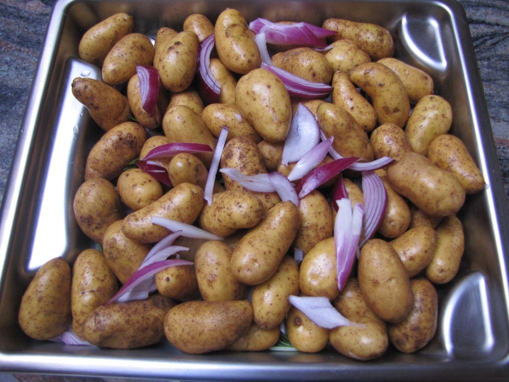 Pommes de terre au romarin