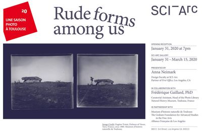 "EXHIBITION ""Rude forms among us"""