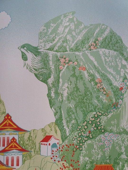 Le dragon et le phénix - Editions Gautier-Languereau - un conte chinois traditionnel sur le lac de l'Ouest
