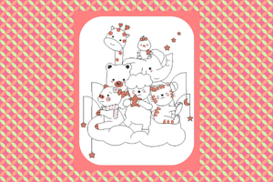 Broderie Amis des animaux 2