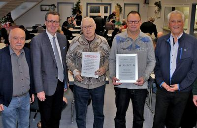 Veitshöchheimer Skatclub Herzbube feiert 50jähriges Bestehen mit Jubiläums-Turnier