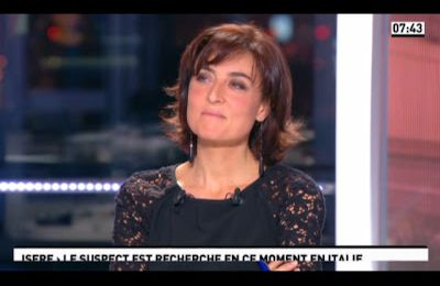 [2012 11 16] NATHALIE IANNETTA - CANAL+ - LA MATINALE @07H45