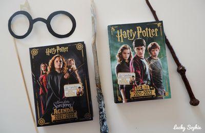 Nouveaux agendas Harry Potter 2021-2022