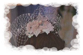 Une jolie voilette, pour le mariage...