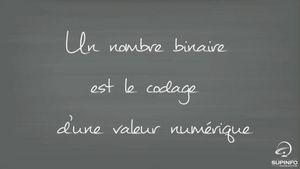 Introduction du Binaire au Décimal #1/12