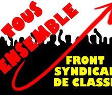 Déclaration du Front Syndical de Classe : « Ne pas dénoncer l'Union Européenne, c'est se faire Hara-Kiri » !