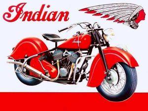 """""""INDIAN CHIEF"""", POUR LES AMOUREUX DE LA MOTO..."""