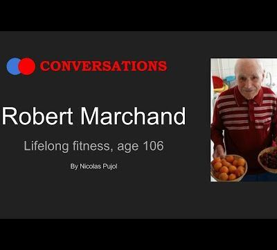 Robert Marchand, objectif 110 ans !