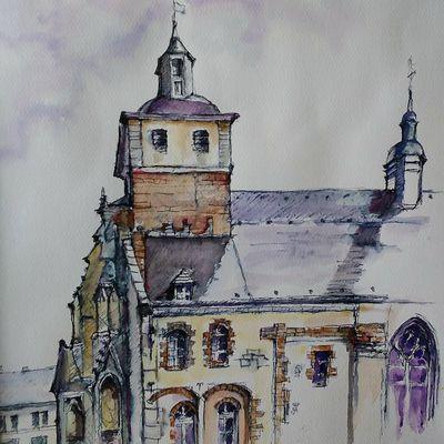 Eglise st Saulve de Montreuil sur mer