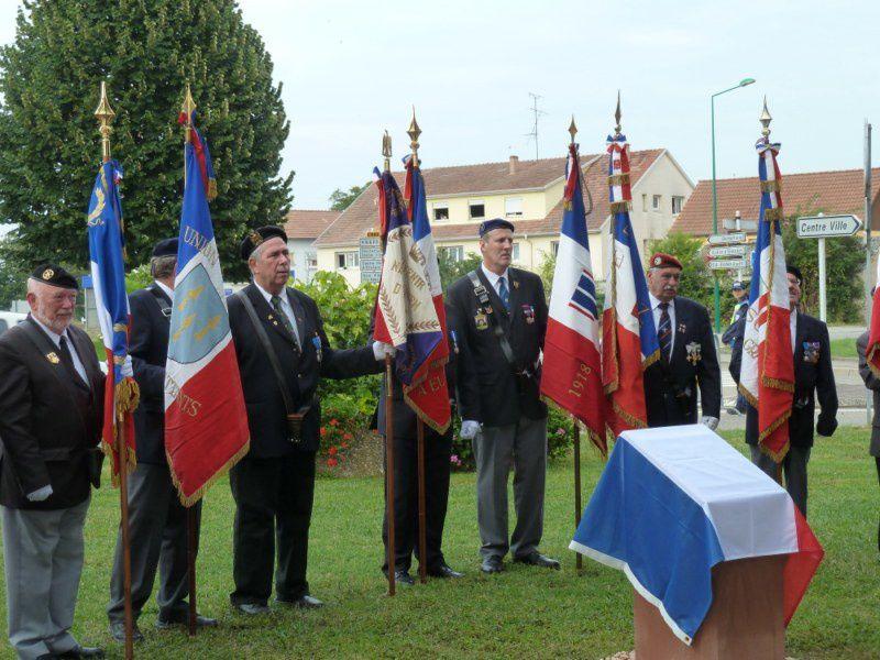 Hommage au Major Fabien Willm à Erstein