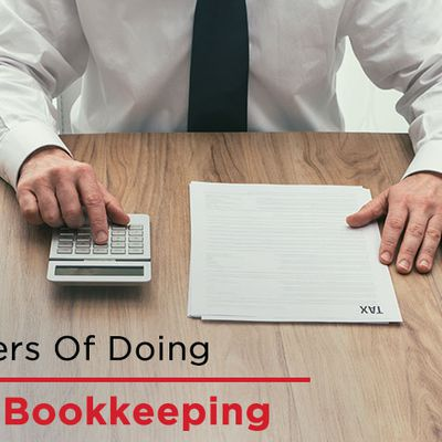 Top 10 risks of bookkeeping doing by yourself